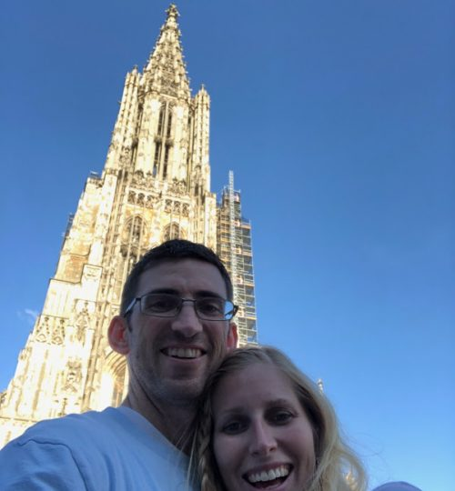Ulm Cathedral in Germany CLimbed to the top of the tower. Tallest Church in the world