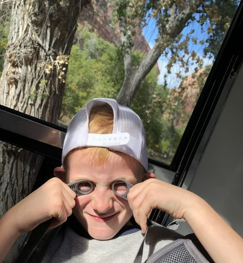 E being silly in Zions